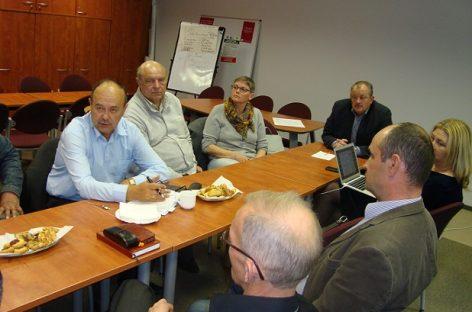 """Spalio 12 d. LPS ,,Solidarumas"""" būstinėje – VĮ """"Kelių priežiūra"""" profsąjungų susitikimas"""