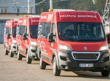 Sostinės viešojo transporto kontrolieriams – nauji automobiliai
