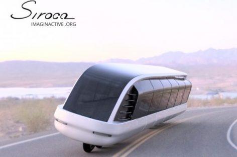 """""""Siroco"""" – autobusas motociklas"""