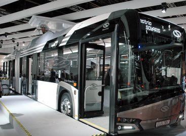 """Rumunijos mieste – didžiausias kiekis """"Solaris"""" elektrinių autobusų"""