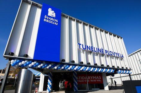 Vilniuje – galingiausia tunelinė plovykla Baltijos šalyse