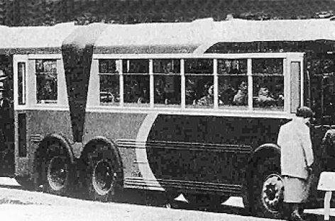 """""""Twin Coach"""" – neilgai gyvavusi amerikietiško autobuso koncepcija"""