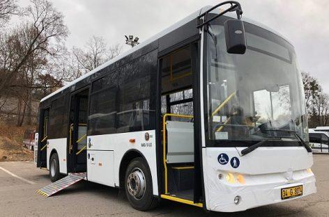 Nauji žemagrindžiai autobusai – dar vienam Lietuvos miestui