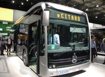 "Pirmasis elektrinis ""Mercedes-Benz Citaro"" – Hamburgui"