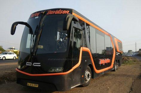 """Harley-Davidson"" autobusas – Indijai"