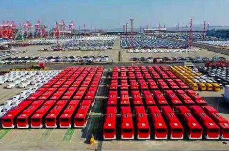 """""""Yutong Bus"""" pristatys 100 elektrinių autobusų Čilei"""