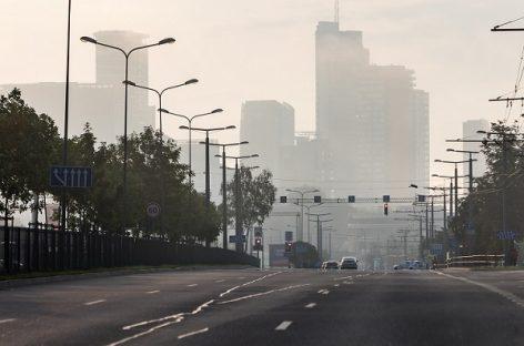 Itin judri T. Narbuto ir Saltoniškių sankryža Vilniuje taps pralaidesnė, viena juosta – tik viešajam transportui