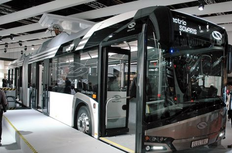 """Rygos vežėjai užsisakė daugiau naujų dyzelinių """"Solaris"""" autobusų"""