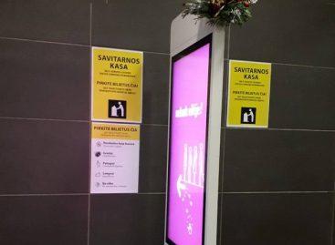 Šiaulių autobusų stotyje – savitarnos terminalas