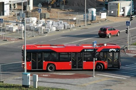 Kovo 17 d. keleivių patogumui Vilniuje kursuos 65 maršruto autobusai