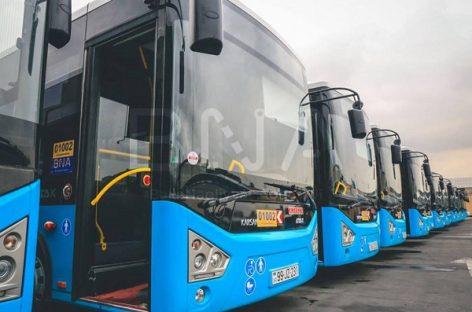 Baku gatvėse – 300 naujų autobusų