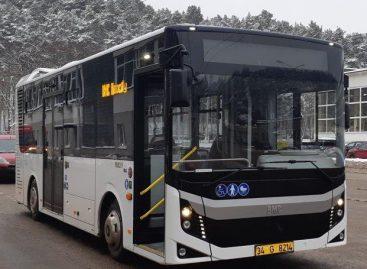 Sostinėje – naujas, iki šiol Lietuvoje nematytas autobusas