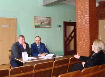 Profesinių sąjungų atstovai su Naujosios akmenės autobusų parko darbuotojais aptarė aktualiausias problemas