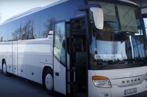 Marijampolės tolimojo susisiekimo maršrutų autobusų eismas žiemos švenčių metu