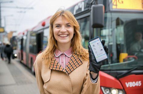 Žinomi žmonės ragina naudotis viešuoju transportu