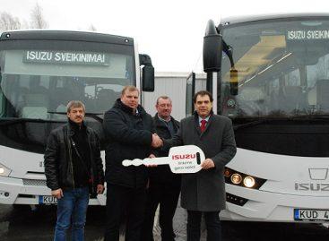 Nauji autobusai – dar viename Lietuvos mieste