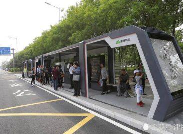 Kinijoje – išmaniosios autobusų stotelės
