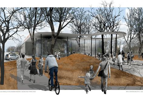 Kaip netrukus gali atrodyti Vilkaviškio autobusų stotis?