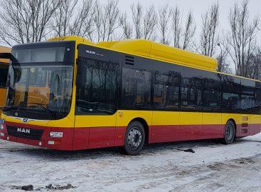 Šiauliuose pristatomi nauji autobusai