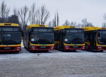Šiauliuose – keturi pirmieji nauji autobusai