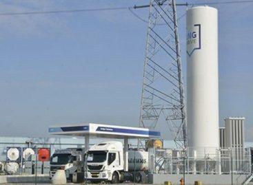 Netoli Antverpeno – pirmoji suskystintų gamtinių dujų degalinė