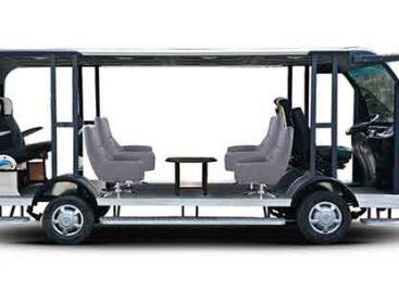 Studentai pristatė saulės energiją naudojančio autobuso prototipą