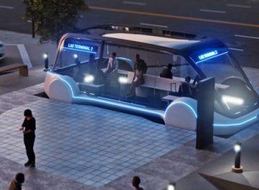 Elonas Muskas siūlo kurti požeminę elektrinių autobusų sistemą (video)
