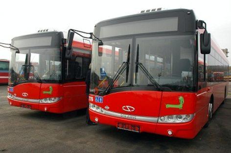 Nuo gegužės 22 dienos Kaune keičiami 39-ojo ir 45-ojo autobusų maršrutų eismo tvarkaraščiai