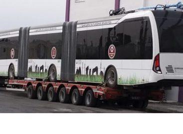 Turkijos Urfos mieste – troleibusų linija