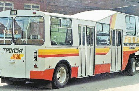 """""""Trolza-6020″: vienintelis ir nepakartojamas oro uostams skirtas autobusas"""