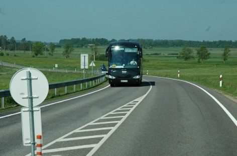 Kaip žadama skaičiuoti Kelių naudotojų mokestį autobusams už nuvažiuotus kilometrus?