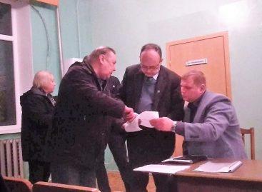 Profesinių sąjungų atstovai susitiko Naujosios Akmenės autobusų parko darbuotojais