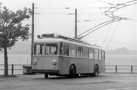 """""""Berna Gangloff"""" troleibusas – iš praėjusio amžiaus vidurio"""
