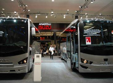 """Kišiniovo vežėjai įsigijo """"Isuzu"""" autobusų"""
