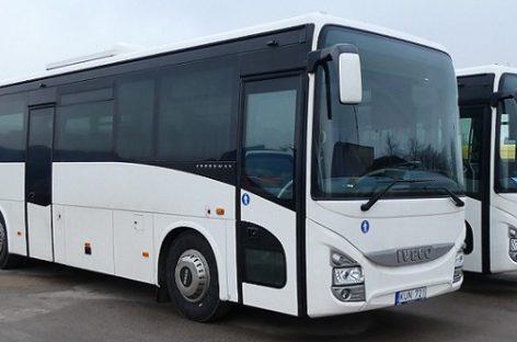 Atsinaujina ir mažieji šalies autobusų parkai