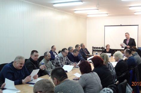 """Bendrovės """"Kauno autobusai"""" darbuotojų konferencija"""
