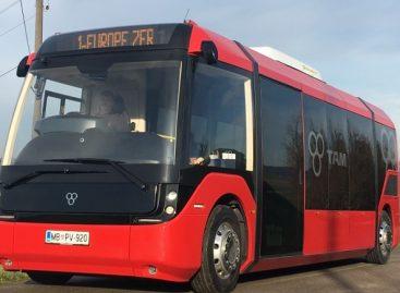 Slovėnai pristatė elektrinį vidutinės klasės autobusą