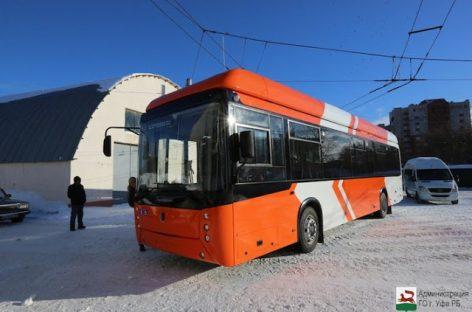 Rusijoje pristatytas naujas troleibusas