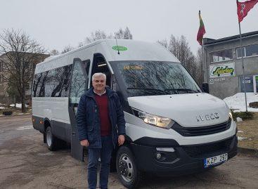 Naujam maršrutui – naujas autobusas