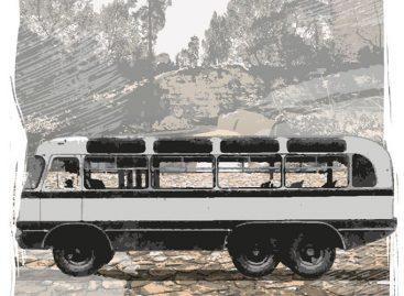 Sovietinis visureigis autobusas