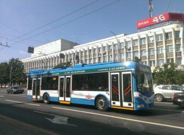 Vitebske – naujas troleibusų maršrutas