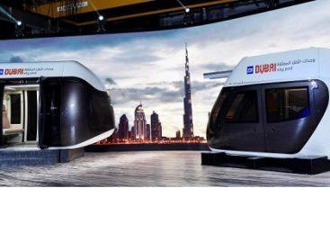 """Ateities viešasis transportas Dubajuje: """"Sky Pod"""""""