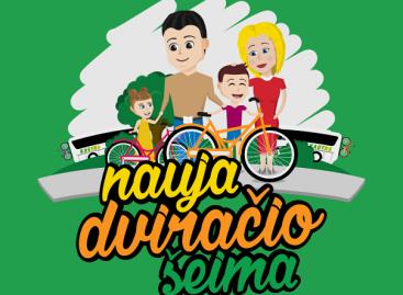 Kviečia vaikams dovanoti nenaudojamus dviračius