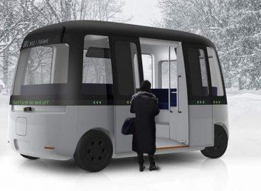Japonai ir suomiai sukūrė savivaldį autobusą šiaurės šalims
