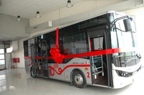 """Bendrovė """"Vilniaus viešasis transportas perka 10 """"Isuzu Novociti Life"""" autobusų"""