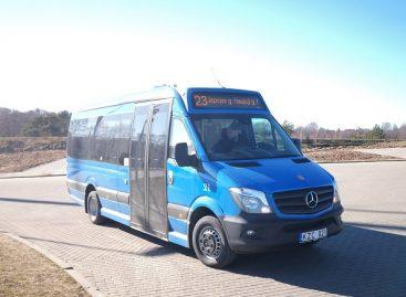 Klaipėdoje – nauji autobusai