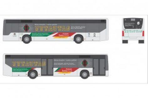 Šiauliai siekia ant miesto autobusų įamžinti partizanų atminimą