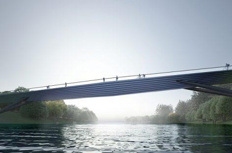Sostinėje atsiras naujas tiltas per Nerį