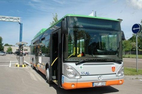 Joninių naktį Klaipėdos viešasis transportas važiuos ilgiau