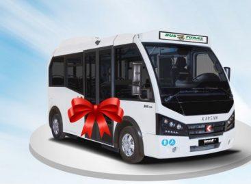"""Šiauliuose pristatomi nauji """"Karsan"""" autobusai"""